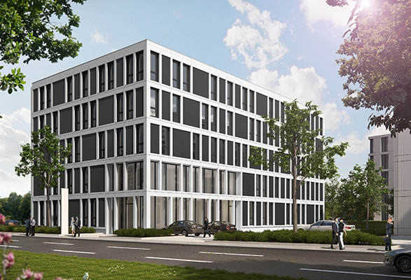 Eastside IV Mannheim Bürogebäude