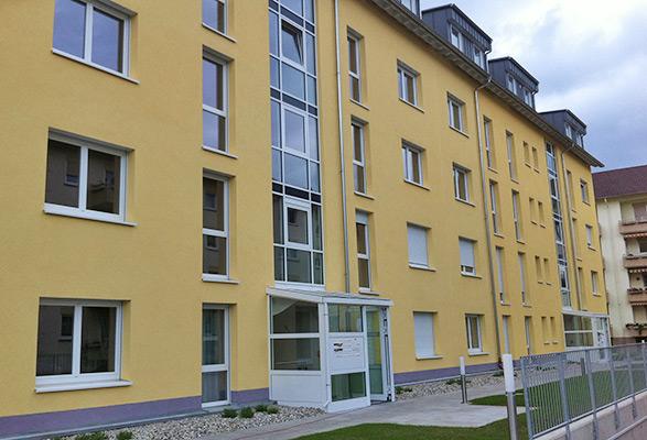 Neuostheim, Ansicht Eingang